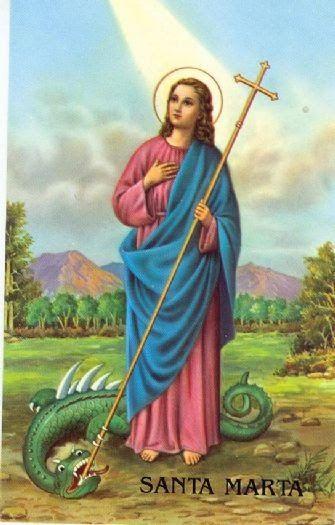 Amable Protectora Mía Santa Marta Que Tuviste La Inefable Dicha De Hospedar A Jesús En Tu Casa Oraciones Oración Milagrosa Oraciones Milagrosas Y Poderosas