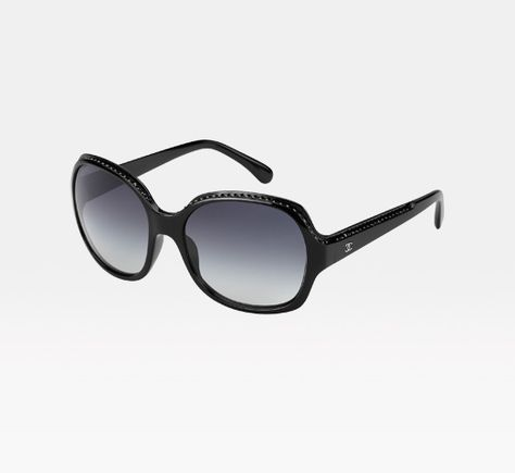 f4879fbad0 CHANEL CC Logo Sunglasses 5143 Black and White