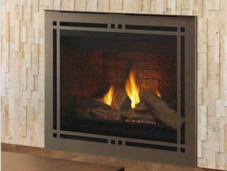 Majestic Meridian Platinum 42 Top Rear Direct Vent Fireplace