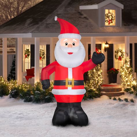 Airblown Inflatable-Santa Claus Giant 10ft tall by Gemmy Industries #Gemmy