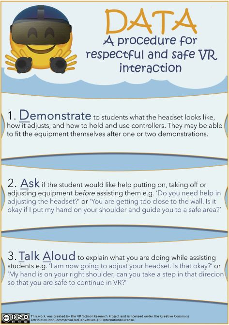 Embedding immersive virtual reality in classrooms: Ethical