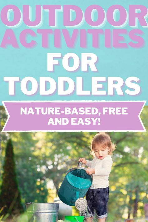 Outdoor Activities for Toddlers at Home