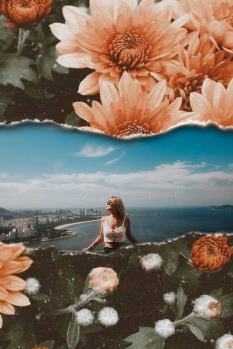 Make your next PicsArt project a collage edit. It's super easy and looks 🔥🔥