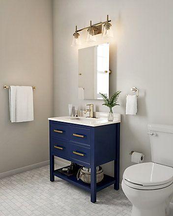 Home Decorators Collection Brookbank 30 Inch 2 Drawer Vanity In