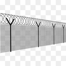 Black Hand Painted Barbed Wire Fence Barbed Wire Vector Barbed Vector Wire Vector Fence Vector Barbed Wire Photoshop Overlays Barbed Wire Fencing