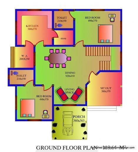 Wonderful House Plans 700 Square Feet Uk Kerala House Plans 700square Feet Picture House Floor Plans Bedroom House Plans House Plans Shop House Plans