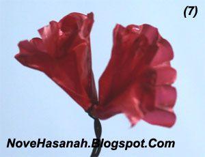 Cara Buat Bunga Mudah Dari Plastik Bekas Bunga Plastik