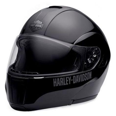 Harley-Davidson® Mens Retractable Sunshield Modular Flip Full Face Helmet 98211-10VM