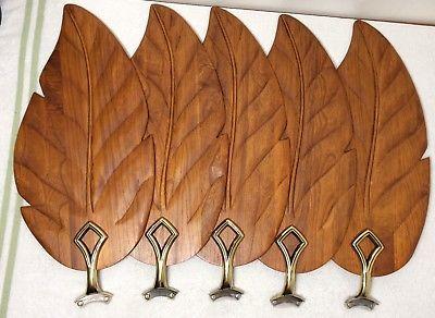 Dark Walnut Carved Wooden Leaf Ceiling Fan Blades Br Arms