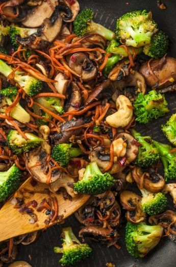 Broccoli And Mushroom Stir Fry Healthy Stir Fry Recipes