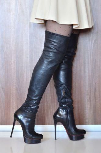 High Heels Gianmarco Stiletto Thigh Boots Lorenzi Overknee vmn0wNO8
