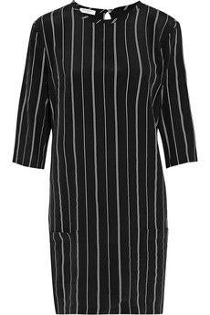 Equipment Aubrey striped silk mini dress | THE OUTNET