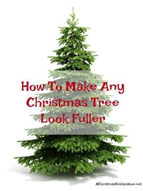 How To Make A Christmas Tree Look Fuller Christmastreeideas Cheap Christmas Trees Slim Christmas Tree Rainbow Christmas Tree