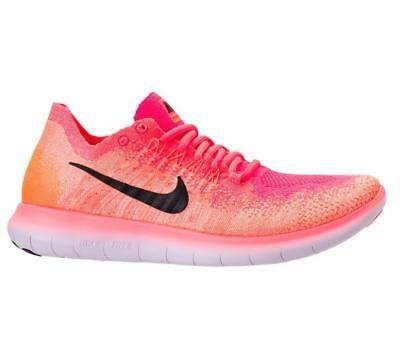 síndrome República mitología  Womens NIKE FREE RN FLYKNIT 2017 Bright Mango Running Trainers 880844 800    eBay in 2020   Nike free, Nike women, Nike