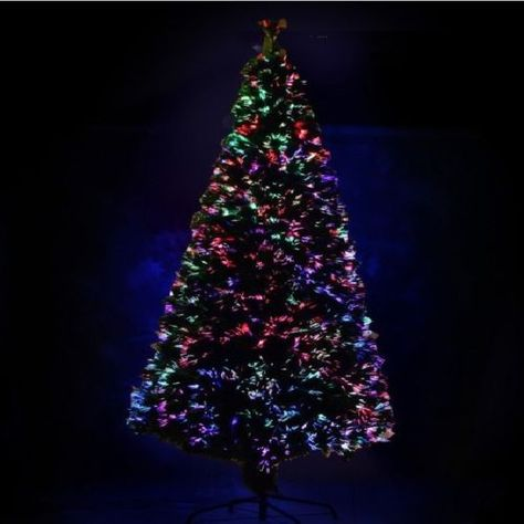 3 7ft Pre Lit Fiber Optic Artificial Christmas Tree Led Multicolor Lights Stand Fiber Optic Christmas Tree Led Christmas Tree Christmas Tree