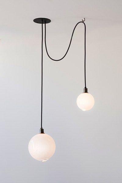 Drape Composition 1 Pendant Fixture Single Hanging Light Retro