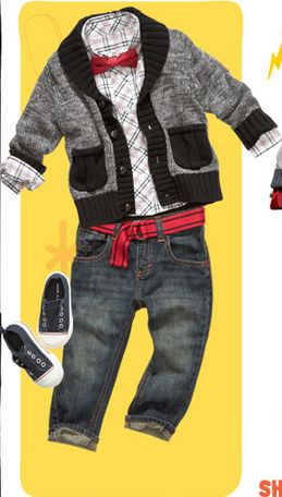 Love this toddler boy outfit from Old Navy!
