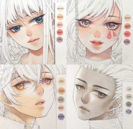 Trendy How To Color Manga Skin Ideas Copic Marker Art Copic Art Copic Markers