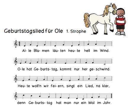 Geburtstagsgeschichte Geburtstagslieder Geburtstag Lieder Und
