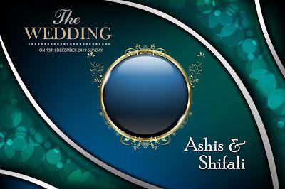 Wedding Album Cover Page Design Psd Vol 02 Free Download Wedding Album Cover Wedding Album Cover Design Wedding Album