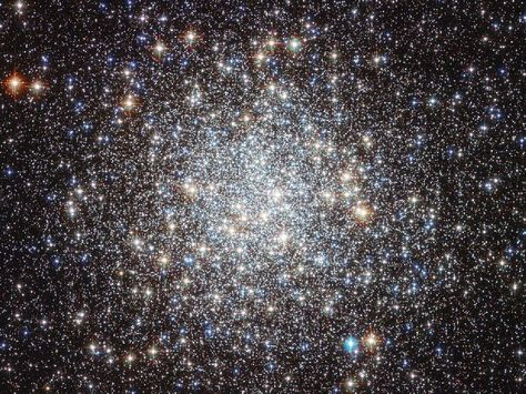 The Hubble Space Telescope has produced the most detailed image so far of Messier 9, a globular star cluster located close to the center of the galaxy. This ball of stars is too faint to see with the naked eye, yet Hubble can see over 250,000 individual stars shining in it.
