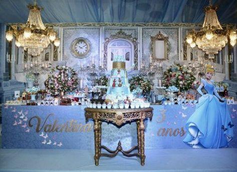 Cinderela Decoracao De Festa Infantil Festa Cinderela Festa De