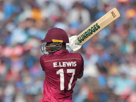 1st ODI: Evin Lewis hits unbeaten 99 as Windies ease to victory vs Ireland