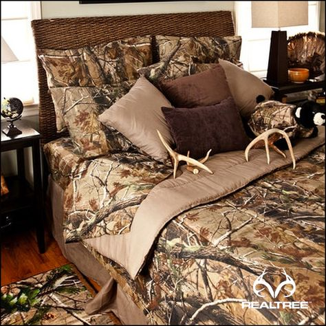 Are you ready to add some #Realtreecamo bedding in your bedroom?   #Realtreegear
