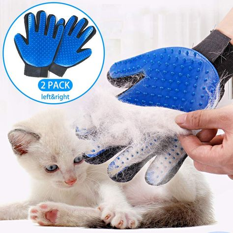 ssriver pet grooming glove hair remover brush gentle deshedding rh pinterest fr