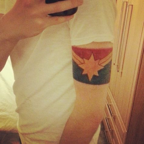 New tattoo from Tumblr user captainwhizbang