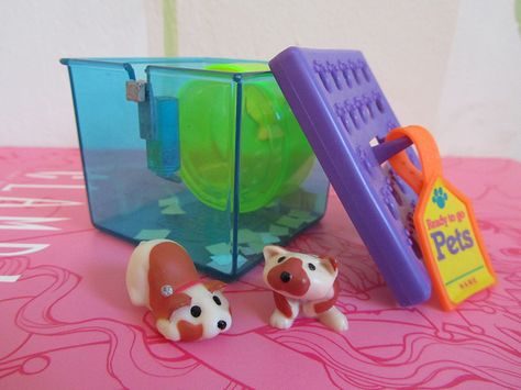 Busy Hamsters Ready To Go Pets Little Pet Shop Toys Childhood Toys