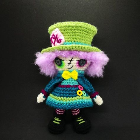 Particularly proud of this one! Amigurumi goth doll - Album on Imgur | 474x474
