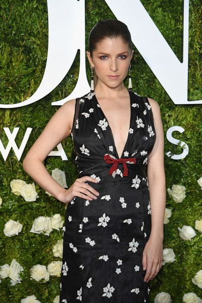 Anna Kendrick attends the 2017 Tony Awards at Radio City Music Hall.