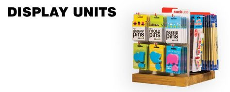 Recommend display units/ give one away for free to increase order