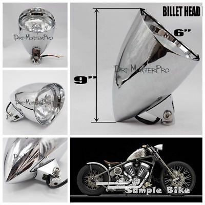 Advertisement Ebay 5 5 Billet Headlight For Harley Davidson Chopper Bobber Softail D Harley Softail Motorcycle Parts And Accessories Classic Harley Davidson