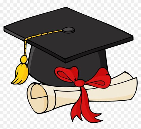 Download And Share Clipart About Spring Education Expo Graduation Cap And Gown Find More High Quality Free Chapeu Formatura Fitas Finalistas Gatinho Desenho