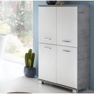 Bathroom Cabinets Shelving Wayfair Co Uk Free Standing Cabinets Cabinet Tall Cabinet Storage