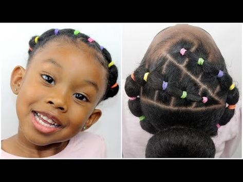 Easy 20 Minute Hairstyle Lil Girl Hairstyles Girls Natural
