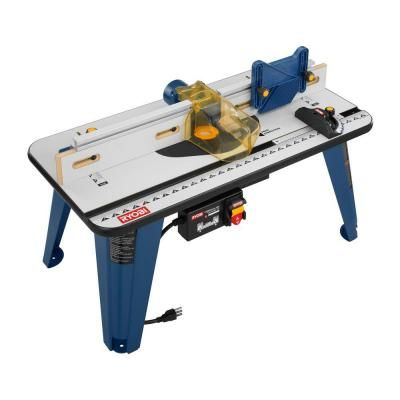 Ryobi 32 In X 16 In Universal Router Table A25rt02 At The Home