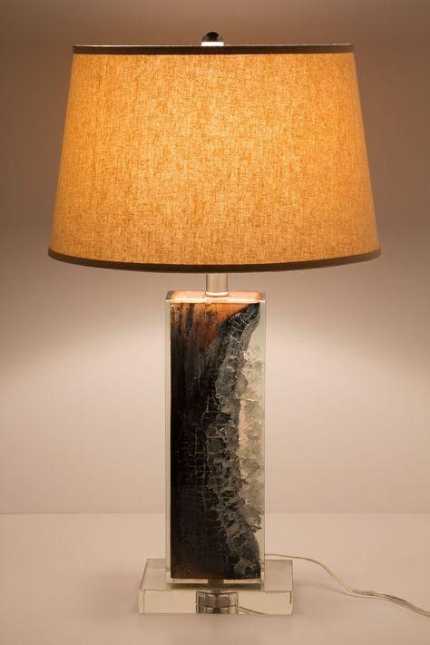 scorched timber lamp base diy furniture wood lamp base lamp rh pinterest co uk