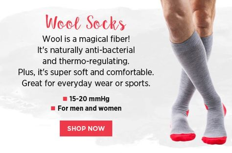 dvt Did you know wool compression...