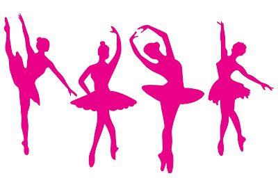 Bailarina vetor para Corel draw e Silhpouette Studio