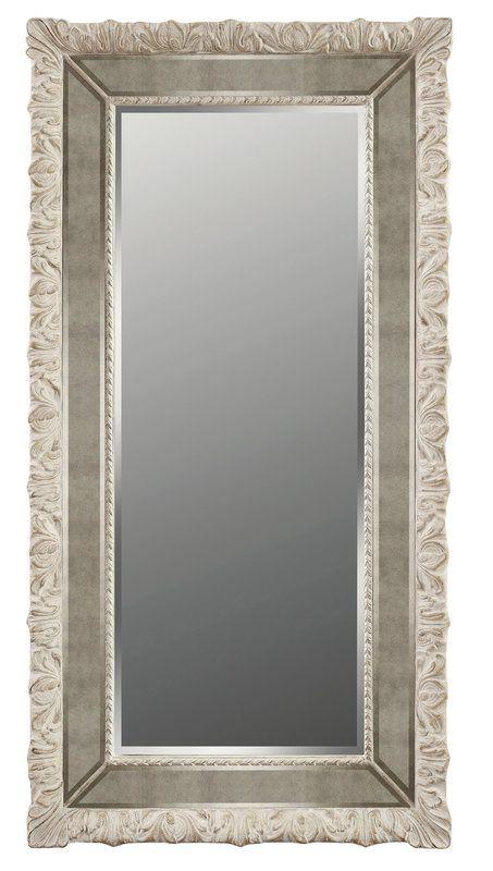Gloria Full Length Wall Mirror Black Floor
