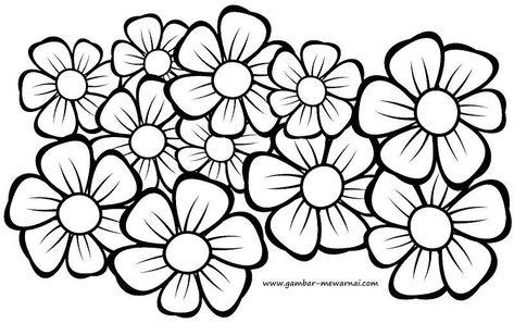 29 Lukisan Corak Bunga Kerawang Di 2020 Lukisan Lukisan Bunga