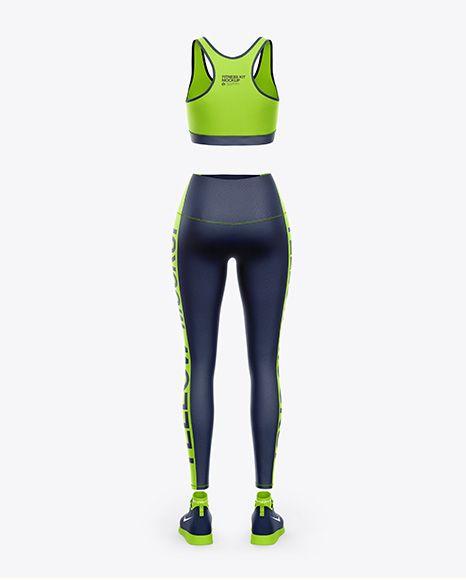 Download Fitness Kit Mockup Back View In Apparel Mockups On Yellow Images Object Mockups Mockup Psd Shirt Mockup Mockup