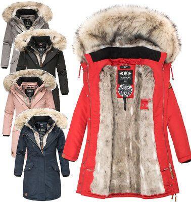 Navahoo Premium Sehr Warm Damen Winter Jacke Winter Parka Mantel Luxus Daylight Ebay Warme Winterjacke Damen Warme Jacke Damen Winterjacke Damen