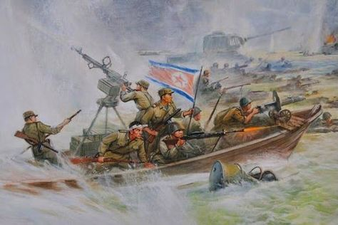 North Korean Landing