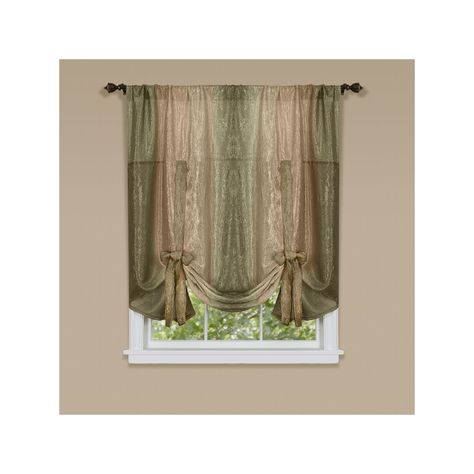 Ombre Tie Up Window Shade 50 X 63 Tie Up Shades Colorful Curtains Panel Curtains