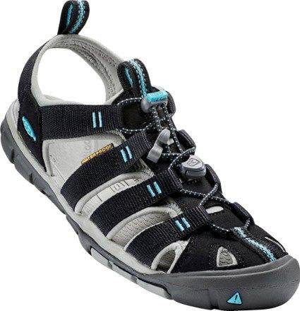 KEEN Women's Clearwater CNX Sandals Black/Radiance 10.5