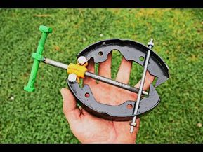 OLD REAR BRAKE SHOES ? Do not throw them, just do something useful from them / DIY Project - YouTube